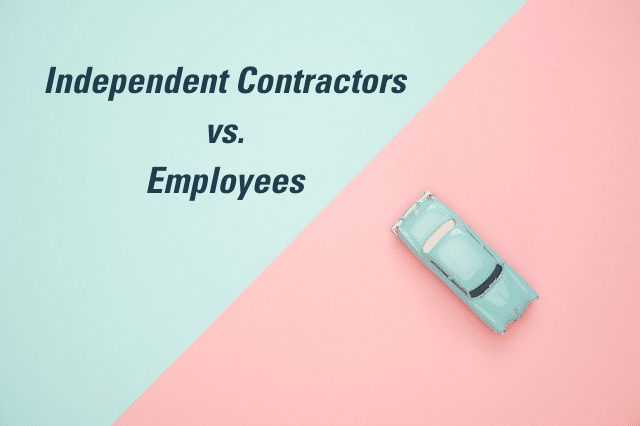 Independent Contractor vs. Employee: The Tax Difference